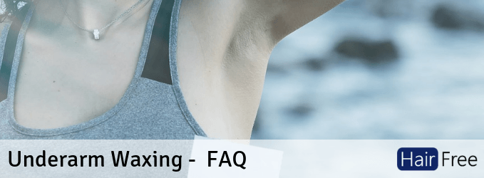 Underarm Waxing All Your Questions Answered Hair Free Life